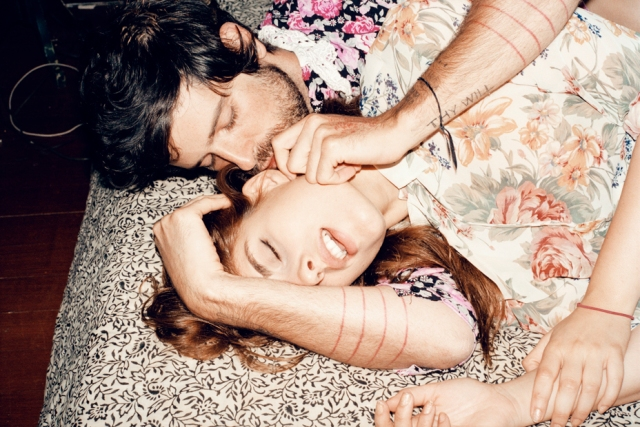 One of a photo series documenting a whirlwind affair & engagement between Devendra and photographer Ana Kraš