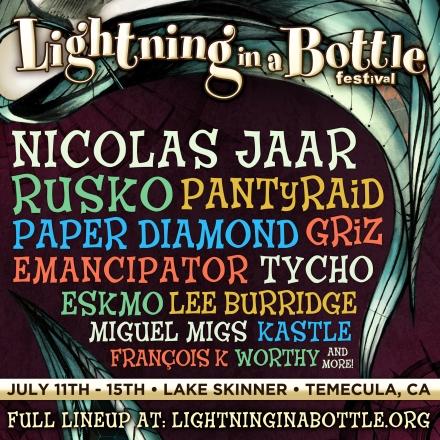 Lightning in a Bottle Lineup Short