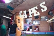 Pop-up cape shop
