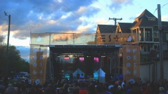 Stage at Mix Master Mike