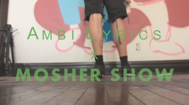 AmbILyrics x Mosher Show Chicago music video